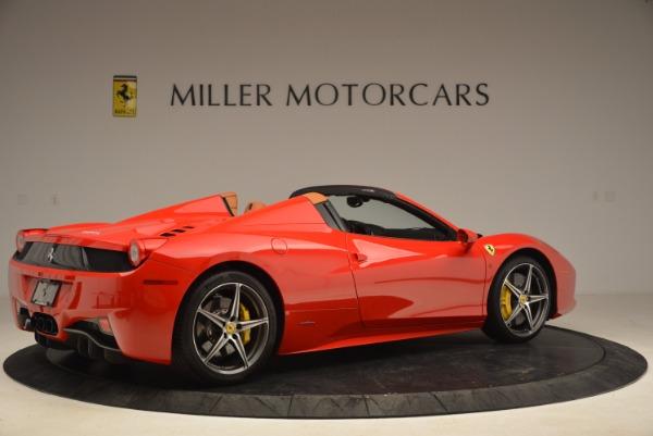 Used 2013 Ferrari 458 Spider for sale Sold at Maserati of Westport in Westport CT 06880 8