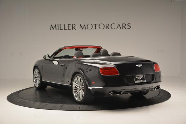 Used 2014 Bentley Continental GT Speed Convertible for sale Sold at Maserati of Westport in Westport CT 06880 5