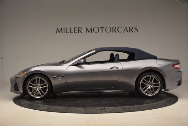 New 2018 Maserati GranTurismo Sport Convertible for sale Sold at Maserati of Westport in Westport CT 06880 5