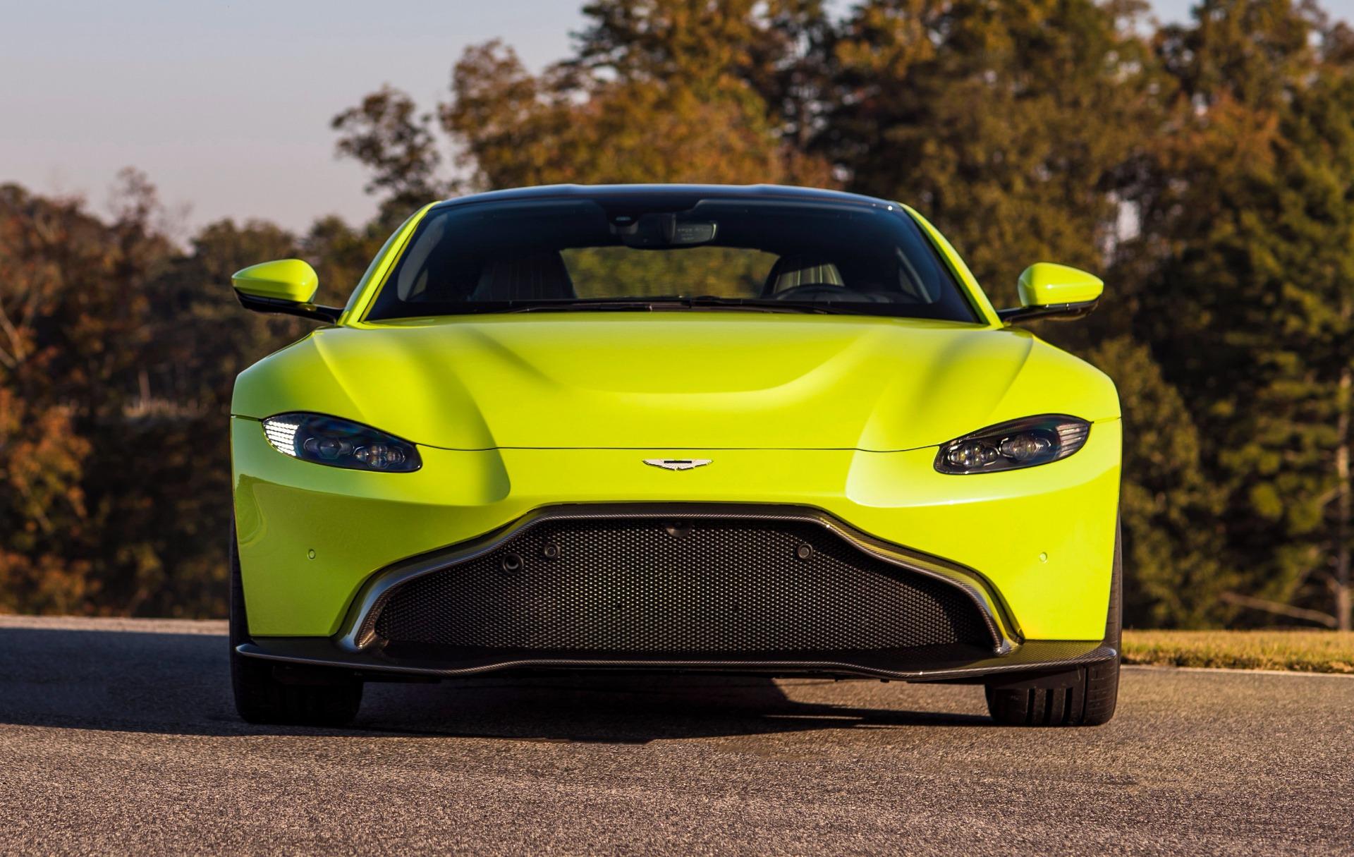 New 2019 Aston Martin Vantage for sale Sold at Maserati of Westport in Westport CT 06880 1