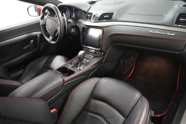 Used 2018 Maserati GranTurismo Sport for sale $94,900 at Maserati of Westport in Westport CT 06880 18