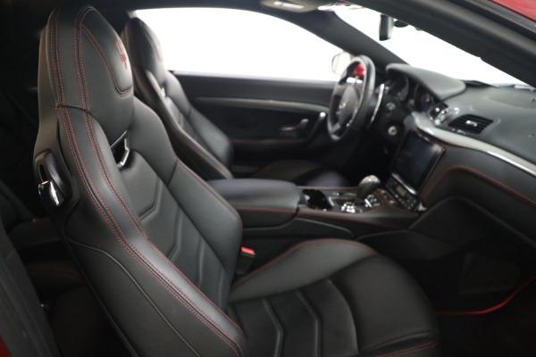 Used 2018 Maserati GranTurismo Sport for sale $94,900 at Maserati of Westport in Westport CT 06880 19