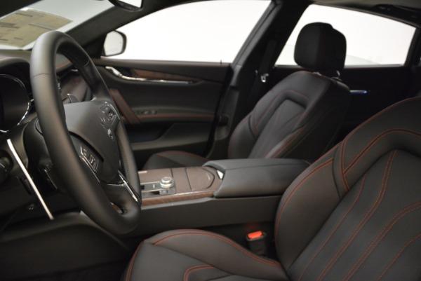 Used 2018 Maserati Quattroporte S Q4 GranLusso for sale Sold at Maserati of Westport in Westport CT 06880 13