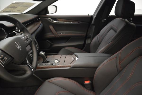 Used 2018 Maserati Quattroporte S Q4 GranLusso for sale Sold at Maserati of Westport in Westport CT 06880 14