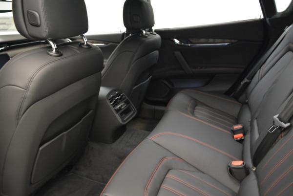 Used 2018 Maserati Quattroporte S Q4 GranLusso for sale Sold at Maserati of Westport in Westport CT 06880 17