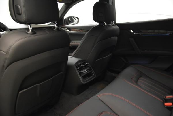 Used 2018 Maserati Quattroporte S Q4 GranLusso for sale Sold at Maserati of Westport in Westport CT 06880 19