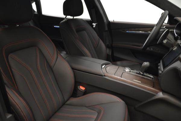 Used 2018 Maserati Quattroporte S Q4 GranLusso for sale Sold at Maserati of Westport in Westport CT 06880 22