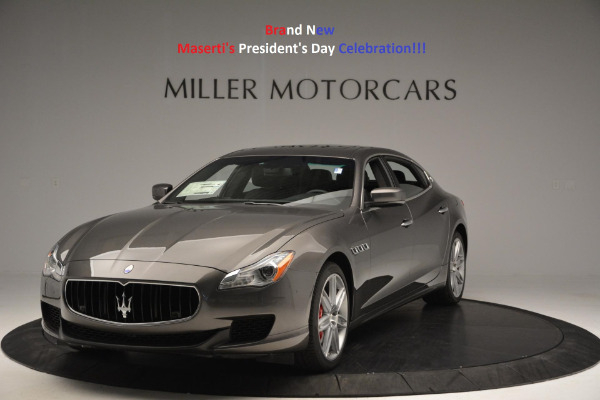 New 2016 Maserati Quattroporte S Q4 for sale Sold at Maserati of Westport in Westport CT 06880 1