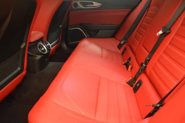 New 2018 Alfa Romeo Giulia Ti Sport Q4 for sale Sold at Maserati of Westport in Westport CT 06880 17
