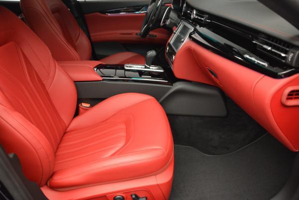 New 2016 Maserati Quattroporte S Q4  *******      DEALER'S  DEMO for sale Sold at Maserati of Westport in Westport CT 06880 23