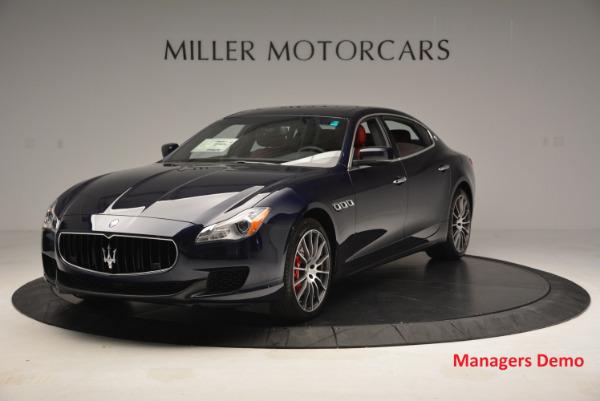 New 2016 Maserati Quattroporte S Q4  *******      DEALER'S  DEMO for sale Sold at Maserati of Westport in Westport CT 06880 1