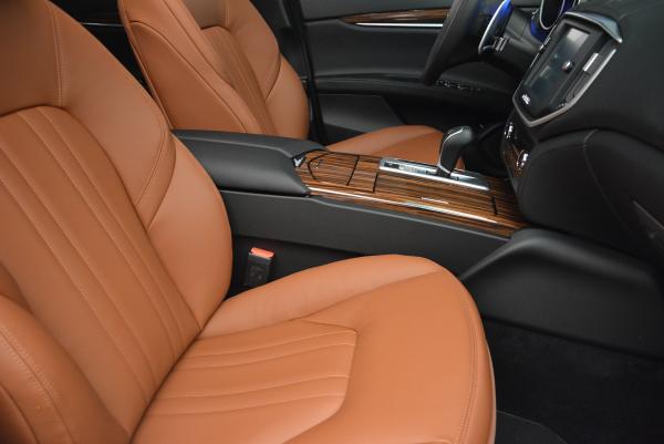 Used 2016 Maserati Ghibli S Q4 for sale Sold at Maserati of Westport in Westport CT 06880 21