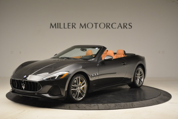 Used 2018 Maserati GranTurismo Sport Convertible for sale $92,995 at Maserati of Westport in Westport CT 06880 1