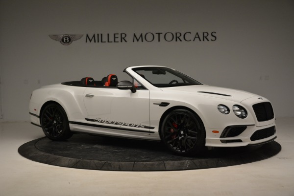 Used 2018 Bentley Continental GTC Supersports Convertible for sale Sold at Maserati of Westport in Westport CT 06880 10