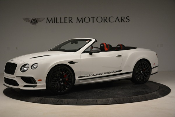 Used 2018 Bentley Continental GTC Supersports Convertible for sale Sold at Maserati of Westport in Westport CT 06880 2