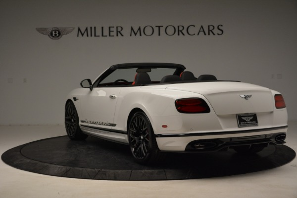 Used 2018 Bentley Continental GTC Supersports Convertible for sale Sold at Maserati of Westport in Westport CT 06880 5