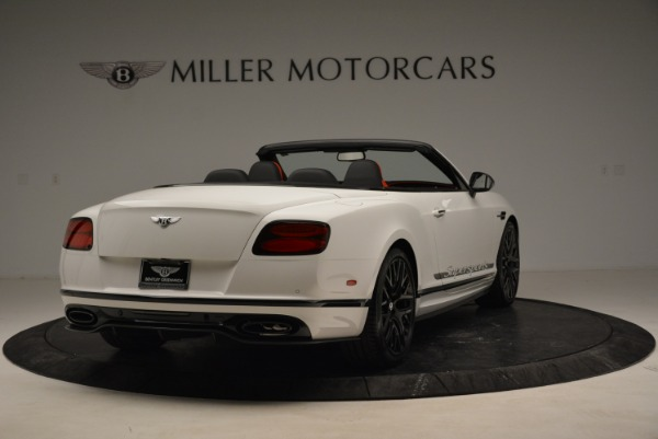 Used 2018 Bentley Continental GTC Supersports Convertible for sale Sold at Maserati of Westport in Westport CT 06880 7