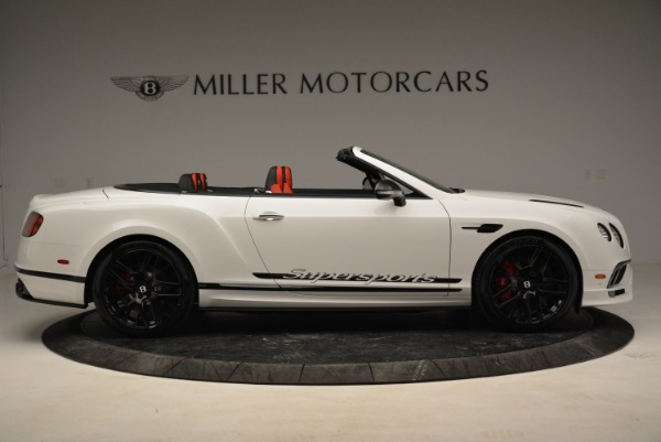 Used 2018 Bentley Continental GTC Supersports Convertible for sale Sold at Maserati of Westport in Westport CT 06880 9