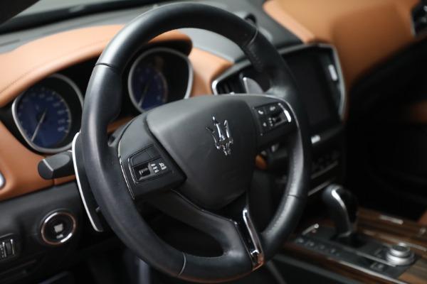 Used 2018 Maserati Ghibli S Q4 for sale $54,900 at Maserati of Westport in Westport CT 06880 17