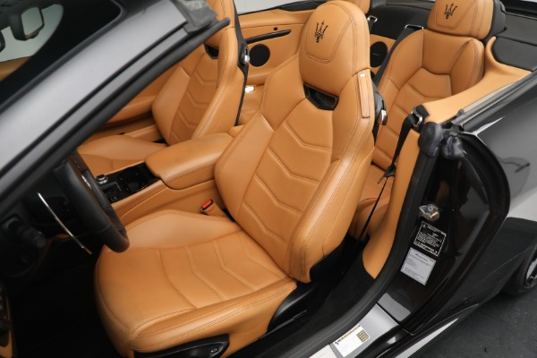 New 2018 Maserati GranTurismo MC Convertible for sale Sold at Maserati of Westport in Westport CT 06880 21