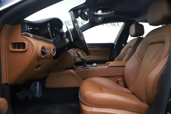Used 2018 Maserati Quattroporte S Q4 GranLusso for sale $65,900 at Maserati of Westport in Westport CT 06880 15