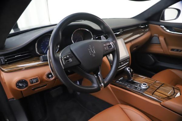Used 2018 Maserati Quattroporte S Q4 GranLusso for sale $65,900 at Maserati of Westport in Westport CT 06880 16