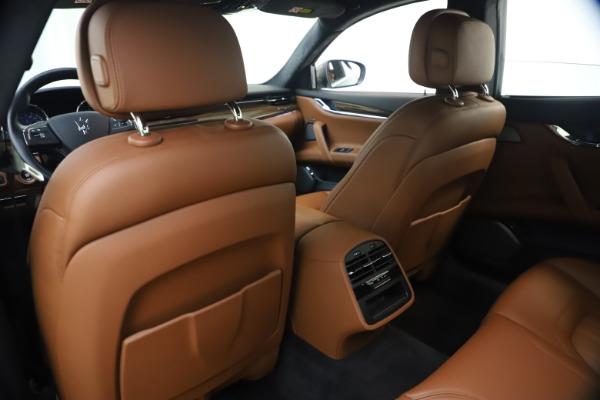 Used 2018 Maserati Quattroporte S Q4 GranLusso for sale $65,900 at Maserati of Westport in Westport CT 06880 20