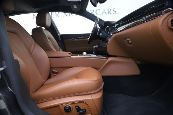 Used 2018 Maserati Quattroporte S Q4 GranLusso for sale $65,900 at Maserati of Westport in Westport CT 06880 22
