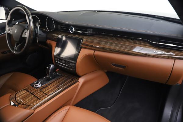 Used 2018 Maserati Quattroporte S Q4 GranLusso for sale $65,900 at Maserati of Westport in Westport CT 06880 23