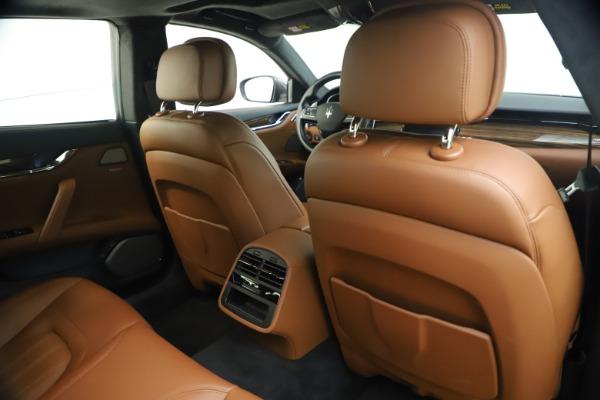 Used 2018 Maserati Quattroporte S Q4 GranLusso for sale $65,900 at Maserati of Westport in Westport CT 06880 26