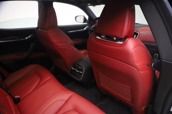 Used 2018 Maserati Ghibli S Q4 GranSport for sale Sold at Maserati of Westport in Westport CT 06880 25