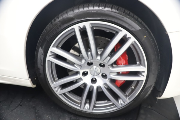 Used 2018 Maserati Ghibli S Q4 GranSport for sale Sold at Maserati of Westport in Westport CT 06880 28