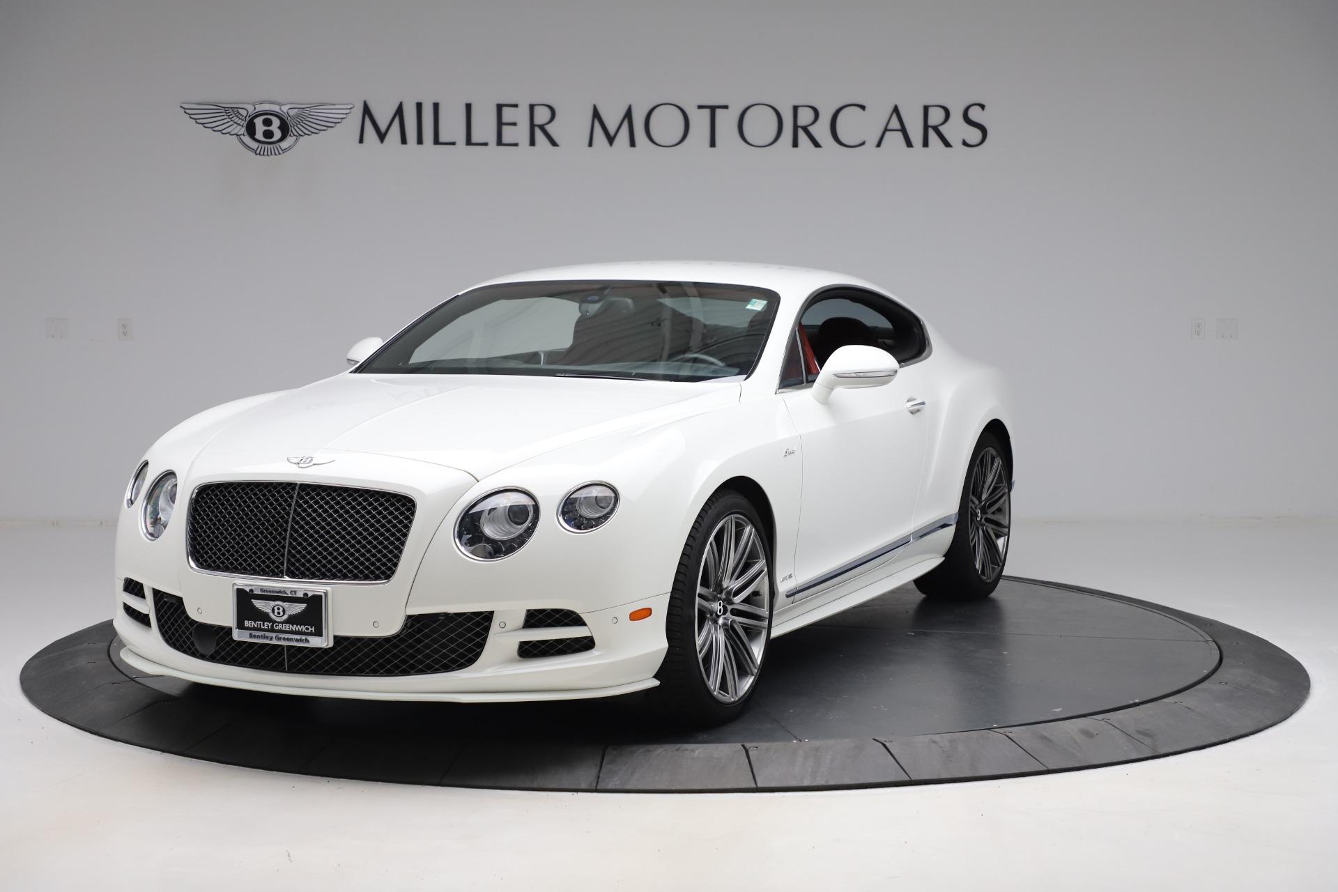 Used 2015 Bentley Continental GT Speed for sale $109,900 at Maserati of Westport in Westport CT 06880 1