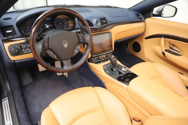 Used 2018 Maserati GranTurismo Sport Convertible for sale $99,900 at Maserati of Westport in Westport CT 06880 19