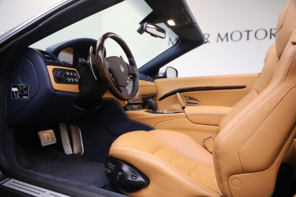 Used 2018 Maserati GranTurismo Sport Convertible for sale $99,900 at Maserati of Westport in Westport CT 06880 20