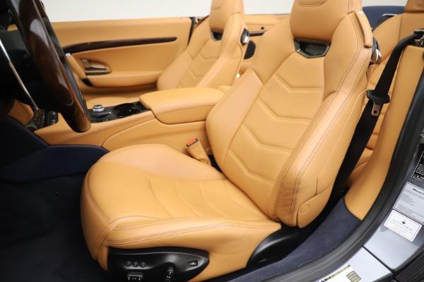 Used 2018 Maserati GranTurismo Sport Convertible for sale $99,900 at Maserati of Westport in Westport CT 06880 21