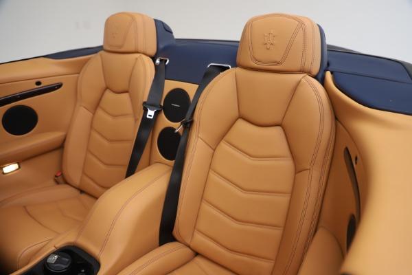 Used 2018 Maserati GranTurismo Sport Convertible for sale $99,900 at Maserati of Westport in Westport CT 06880 24