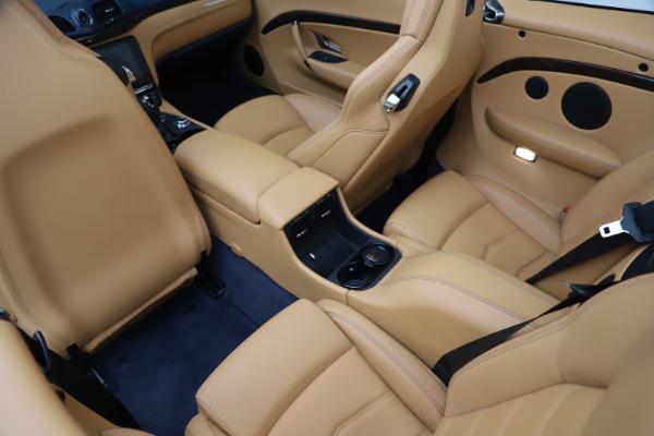 Used 2018 Maserati GranTurismo Sport Convertible for sale $99,900 at Maserati of Westport in Westport CT 06880 25