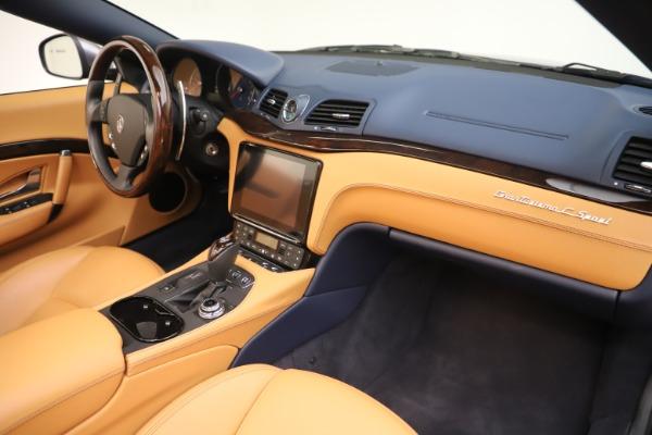 Used 2018 Maserati GranTurismo Sport Convertible for sale $99,900 at Maserati of Westport in Westport CT 06880 26