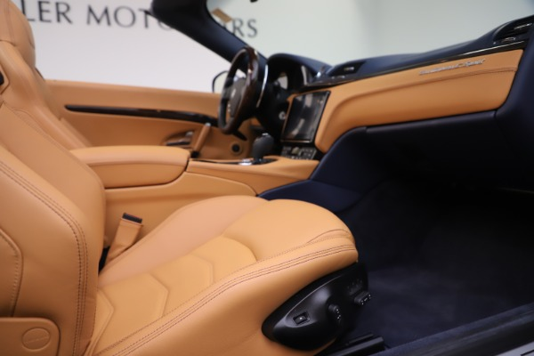 Used 2018 Maserati GranTurismo Sport Convertible for sale $99,900 at Maserati of Westport in Westport CT 06880 27