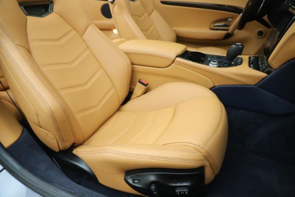 Used 2018 Maserati GranTurismo Sport Convertible for sale $99,900 at Maserati of Westport in Westport CT 06880 28