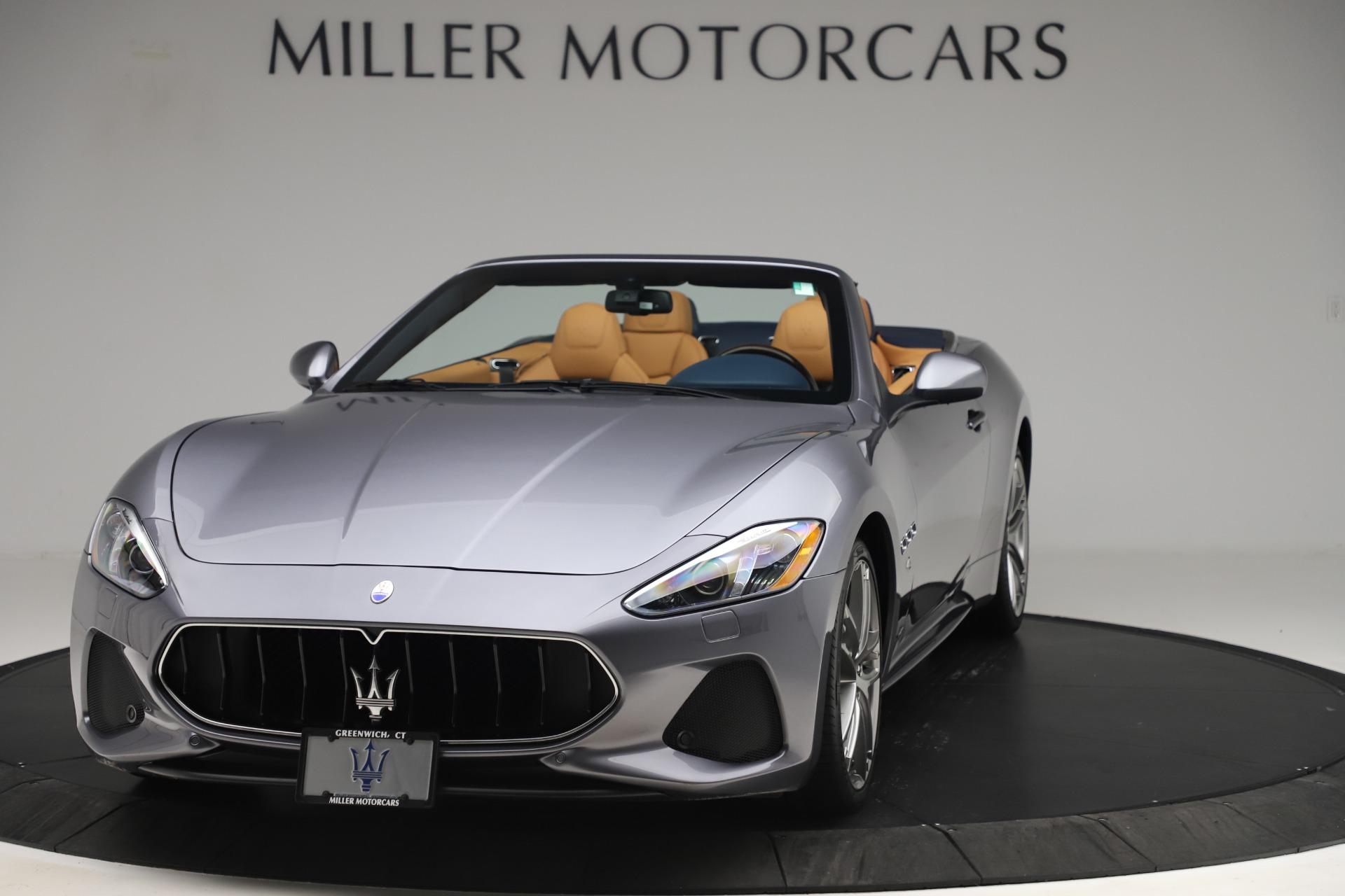 Used 2018 Maserati GranTurismo Sport Convertible for sale $99,900 at Maserati of Westport in Westport CT 06880 1