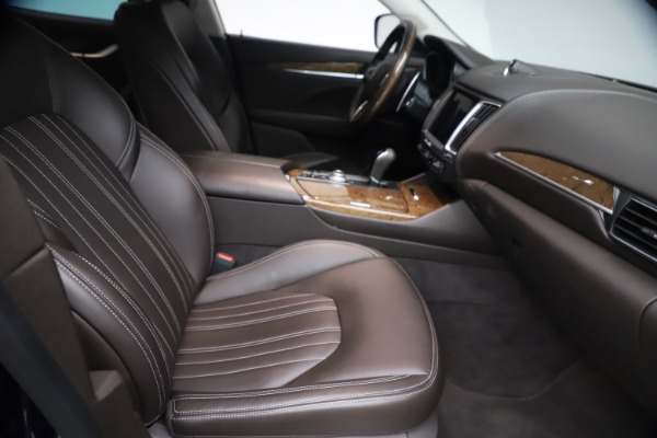 Used 2018 Maserati Levante S Q4 GranLusso for sale $67,900 at Maserati of Westport in Westport CT 06880 21