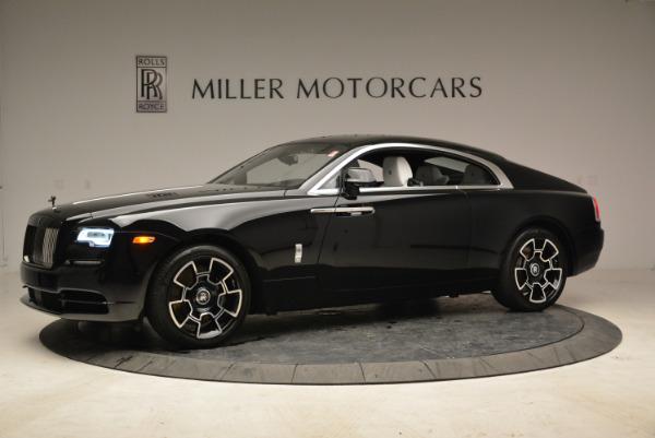 Used 2017 Rolls-Royce Wraith Black Badge for sale Sold at Maserati of Westport in Westport CT 06880 2