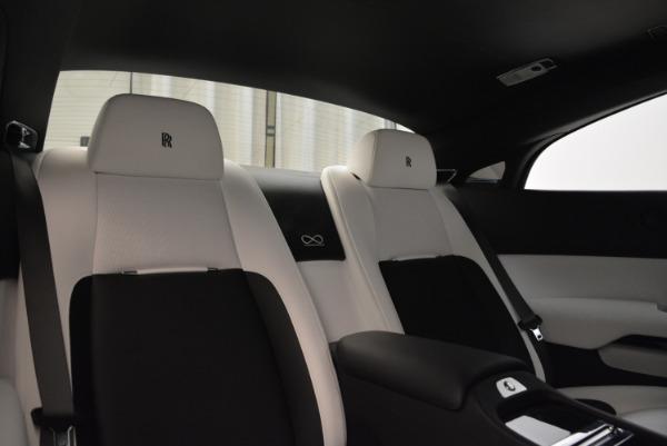 Used 2017 Rolls-Royce Wraith Black Badge for sale Sold at Maserati of Westport in Westport CT 06880 27
