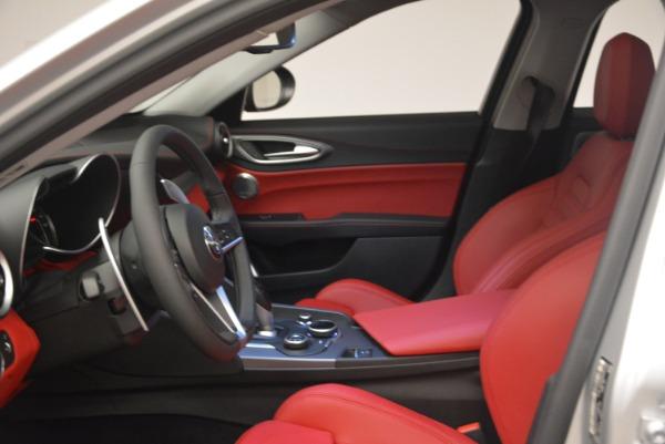 New 2018 Alfa Romeo Giulia Ti Sport Q4 for sale Sold at Maserati of Westport in Westport CT 06880 14