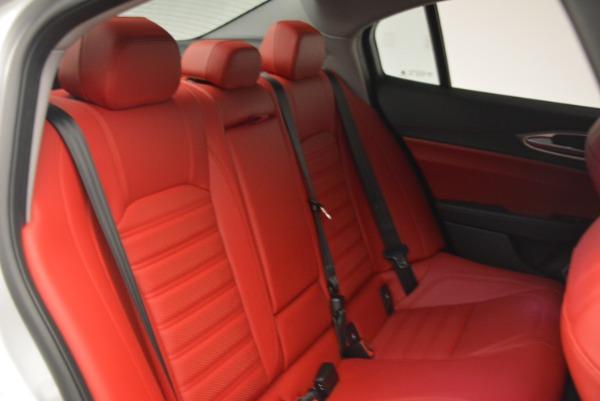 New 2018 Alfa Romeo Giulia Ti Sport Q4 for sale Sold at Maserati of Westport in Westport CT 06880 24