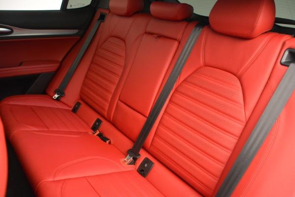 New 2018 Alfa Romeo Stelvio Ti Sport Q4 for sale Sold at Maserati of Westport in Westport CT 06880 21