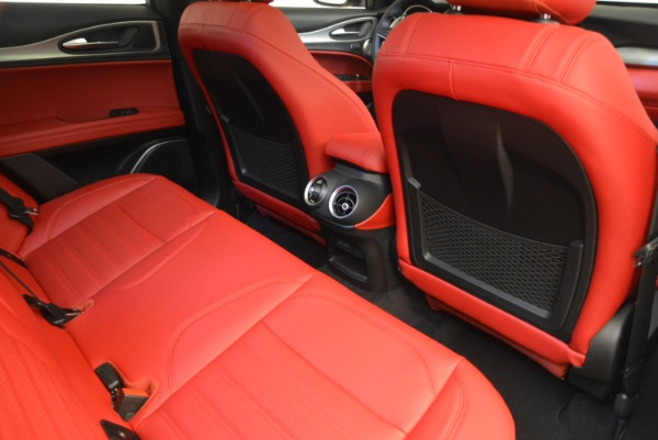 New 2018 Alfa Romeo Stelvio Ti Sport Q4 for sale Sold at Maserati of Westport in Westport CT 06880 22