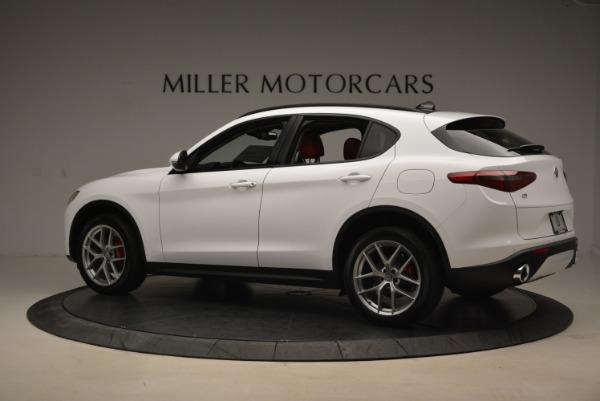 New 2018 Alfa Romeo Stelvio Ti Sport Q4 for sale Sold at Maserati of Westport in Westport CT 06880 4